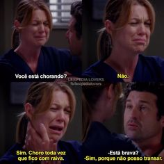 Qnd a Mer tava grávida 😂😂😂 -Meredith, Derek Derek Shepherd, Meredith E Derek, Grey's Anatomy Wallpaper, Greys Anatomy Memes, Grays Anatomy, Owen Hunt, Kate Walsh, Secret Lovers, Cristina Yang