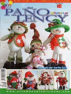 """Photo from album """"Pano Lency on Yandex. Christmas Books, Christmas Crafts, Christmas Decorations, Xmas, Christmas Ornaments, Holiday Decor, Sewing Magazines, Snowman Crafts, American Crafts"""