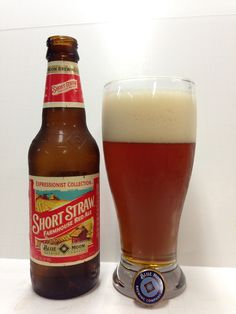 #111 Blue Moon Short Straw Farmhouse Red Ale - Coors Brewing