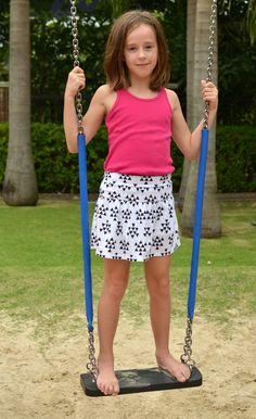 sew: free monkey bar skirt pattern || crafterhours