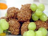 Granola Peanut Butter Balls Recipe, these are amazing and so simple!  I eat them all the time for breakfast.