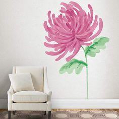 New colors of chrysanthemums to surely brighten up your summer! #MarthaStewartWallArtDecals @Fathead