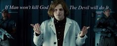 """Batman V Superman Dawn of Justice """"If Man won't Kill God, the Devil will do it!"""" - Lex Luthor by ReverseZoom Batman Vs Superman, Superman Doomsday, The New Batman, Lex Luthor Batman, Dc Comics, Joker, Cw Series, Dawn Of Justice, Go To Movies"""