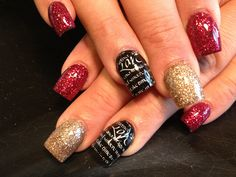 Love acrylic nails by Celeste Young