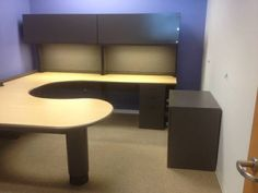 wrap around office desk. u shaped office desk set features wrap around curved surfaces