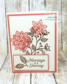 Klompen Stampers (Stampin' Up! Demonstrator Jackie Bolhuis): Flourishing Phrases Card Series: Card #6