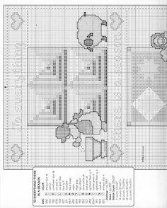 Schema punto croce 4 Seasons Sampler 02