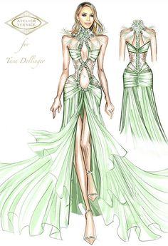 Fashion Illustration Tutorial, Fashion Drawing Tutorial, Fashion Drawing Dresses, Fashion Illustration Dresses, Atelier Versace, Fashion Design Drawings, Fashion Sketches, Casual Summer Outfits For Teens, Costume Design Sketch