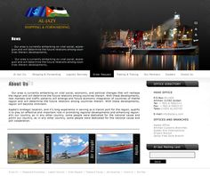 Oriental CIS ( Al Jazi Shipping Website Design )