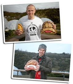 BILLY DEAKIN | Amateur World Cornish Pasty champion, 2012 and 2013     ✫ღ⊰n
