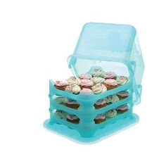 36 cupcake holder OR 3 cakes