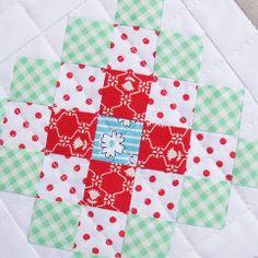 Great Granny Square Quilt Block