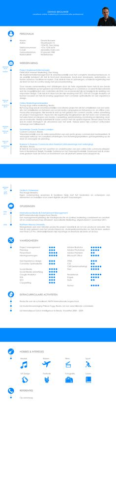 This is my resume. I chose the fresh blue colour because it's an active one, and blue establishes trust. I tried to display my information in les than 3 pages without 'squeezing' it. #cv #curriculumvitae #resume #jobapplication