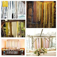 DIY Fabric Wedding Backdrop Just what We need Wedding Cake Backdrop, Wedding Canopy, Wedding Fabric, Wedding Decorations, Lodge Wedding, Wedding Table, Diy Wedding, Bridal Table, Wedding Ideas