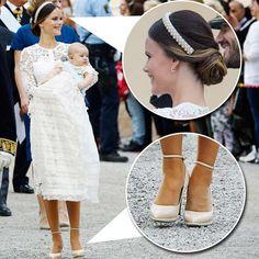 Prinsdopet var en riktig klädfest! Det var mycket spets, pasteller och fina…