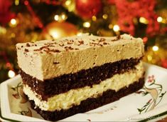 niebiańskie kapuczino Sweets Recipes, Cooking Recipes, Polish Recipes, Polish Food, Vanilla Cake, Tiramisu, Cookies, Ethnic Recipes, Crack Crackers