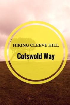 Views from one of England's finest countryside vantage points. Hiking Cleeve Hill in Cheltenham.  via @thethoughtcard