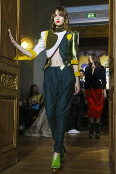 Ronald van der Kemp Couture Fall Winter 2017 Paris / #MIZUstyle