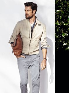 French Model & Photographer Cedric Bihr for H.E. by Mango Spring Summer 2014