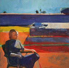 Richard Diebenkorn. Woman on a Porch, 1958