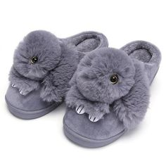 Warm Winter Home Soft Slippers Shoes Animal Cute Bunny Plush Indoor for Women Winter Flats, Winter Slippers, Bunny Slippers, Cute Slippers, Soft Slippers, Animal Print Flats, Animal Prints, Baskets, Adidas