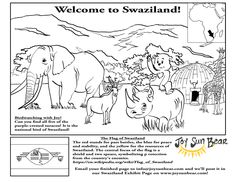 Want to travel to Swaziland in Africa with your kids? Don't miss Joy Sun Bear's newest adventure with a new coloring/activity page and beautiful video by Swaziland Tourism! #travel #Swaziland #Africa #kids #adventures #adventure #children #coloring #color #activities #fun #globaled #multiculturalism #multicultural #diversity #culture #world #one #learn #education #discover #explore #nature #naturelovers #familytravel #traveltuesday