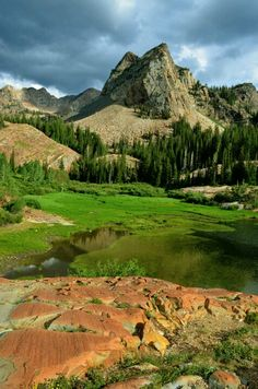 ~ Sundial Peak & Lake Blanche ~ Big Cottonwood Canyon, Utah....Tileafphotography.com....