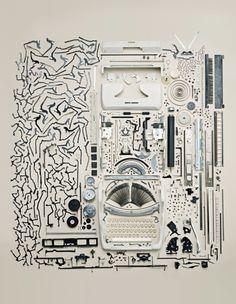 Old Typewriter -- Todd McLellan
