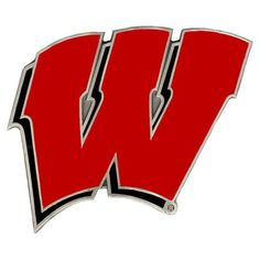 Wisconsin Badgers NCAA Logo Hitch Cover