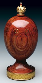 "(3) FABERGE eggs__Theo Faberge__"" ETERNITY"" Egg"