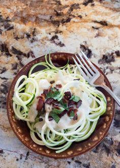 Healthier Fettucine