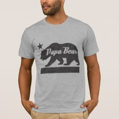 PAPA Bear T-shirt for Dad