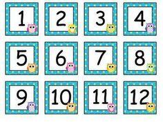 Free Owl Calendar Numbers by Ella Jane Teaching Preschool Calendar, Classroom Calendar, Preschool Math, Classroom Activities, Classroom Organization, Owl Theme Classroom, Calendar Numbers, Free Homeschool Curriculum, Beginning Of The School Year