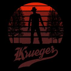 Horror Sun Set Krueger #krueger #freddykrueger #nightmareonelmstreet #horror #film #apparel #tee