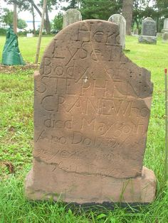 Stephen Crane 1732 Whippany, NJ