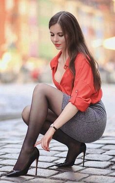 Top 5 Countries With The Most Beautiful Women Beautiful Legs, Most Beautiful Women, Sexy Outfits, Cool Outfits, Sexy Women, Women Wear, Sexy Legs And Heels, Fashion Tights, Sexy Stockings