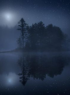 Moon and Stars (Massachusetts) by Patrick Zephyr Photography on 500px