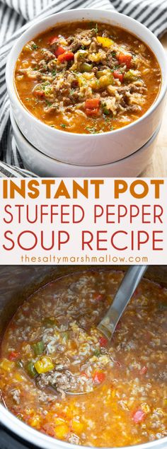 Instant Pot Stuffed