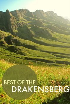 The Drakensberg Mountains in South Africa are a destination offering stunning hikes, mountain lodges, a hamlet country, and quaint towns. It is probably one of the most beautiful places in South Africa and for that matter the world.