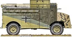 Drawings and information on German Max, AEC Dorchester Armoured Command Vehicle Army Vehicles, Armored Vehicles, 4x4, Afrika Corps, Lend Lease, North African Campaign, Erwin Rommel, Military Diorama, War Machine