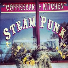 Dreading your trip to THE VALLEY? Stop into Steampunk Coffeebar & Kitchen - say hi to Sean the owner. Sweet dude!
