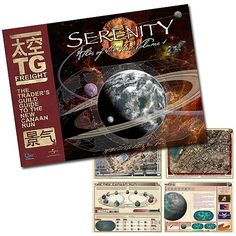 Serenity Atlas of The Verse Volume 1 Book $39.95