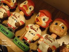 Cardinals classic bobbleheads ....