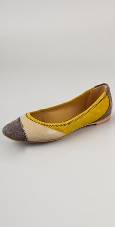 Color Block Flats / See by Chloe