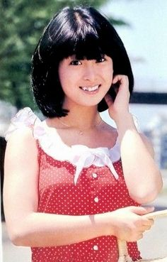 Showa Era, Naoko, Ol Days, Polka Dot Top, Idol, Japan, Beauty, Women, Fashion