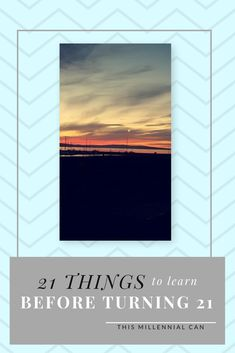 Turning 21 soon? Or want to see what you *should* have known?!  '21 things to learn before 21' is the first blog post my new blog This Millennial Can - have a read and let me know what you think!  #newblog #millennial #advice #productivity #bloggertips #tips