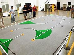 PVC RC Car Race Track:  Use PVC to create an unlimited number of track configurations using PVC pipe. - FORMUFIT.com