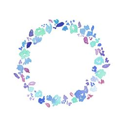 4 (18).png ❤ liked on Polyvore featuring circle, fillers, effect, flowers, borders, circular, picture frame and round