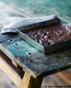 Brownie chocolat noisettes beurre demi-sel (sans farine) pour 6 personnes…