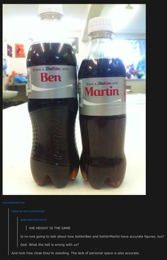 Even Coke admits it. ^Laughing at the entire thing, comment included. XD